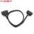 90 Degree Right Angle Male to Female OBD II OBD2 Extension Cable