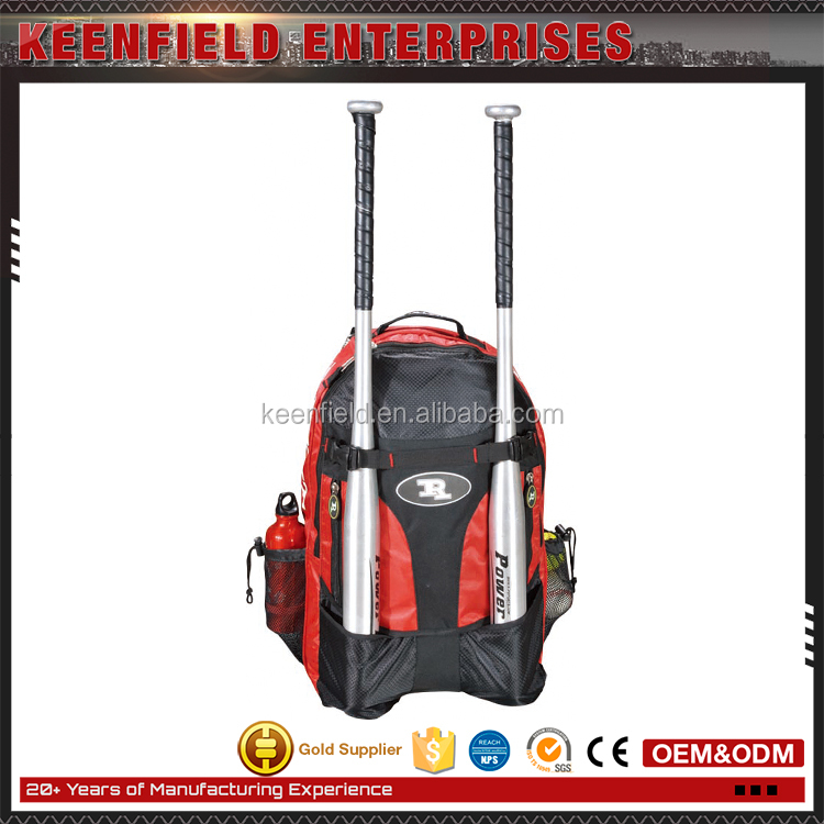 Wholesale China 600D Backpack Sport Baseball Bat Bag