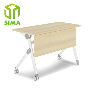 Simple Office Metal Movable Collapsible Training Table