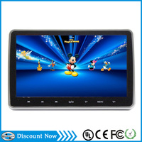10.1inch full HD 1080P Android touch screen headrest monitor Rear seat car dvd player with MP3 palyer ,USB,SD special for bmw