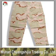 3 Color Desert Camouflage Army Combat Pant