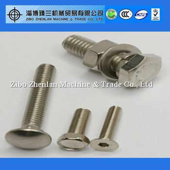 "Grade 4.8/8.8 Carriage Bolts and Nuts 1/4"", 3/8"",1/2"",1"""