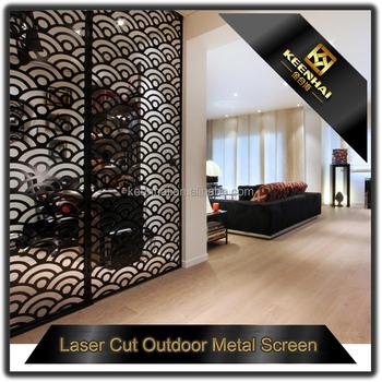 Laser Cut Aluminium Decorative Interior Perforated Metal Wall ...