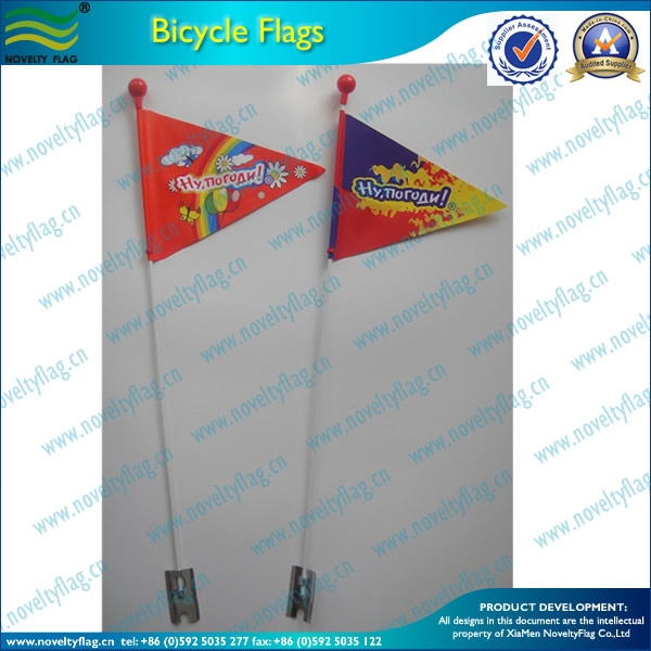 professional bicycle flags advertising flag producer