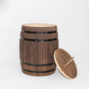 Custom Decoration Handmade Mini Craft Wood Barrel