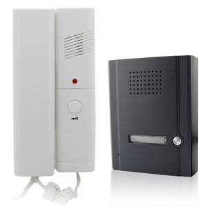 Apartment Building Door Opening Audio Door Phone Intercom System