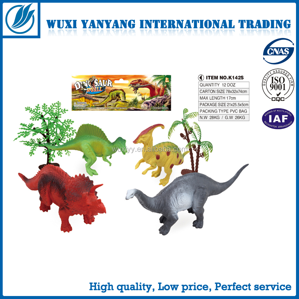 newest kids favorite dinosaur figurine toys with eco friendly material