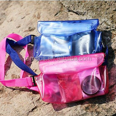 High quality PVC Transparent design waterproof bag for or mobile phones/PDA/camera/MP3/MP4/PSP/wallet etc