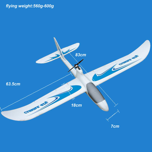 China Model Production Battery Rc Airplane Glider Fly Like