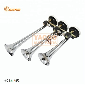 Better Price Hot selling Long Horn Trumpet Vehicle Air Horn for Truck Electrical Digital Horns