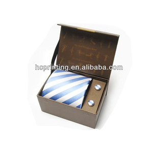 New design Tie box cuff link box