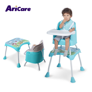 Top supplier best price high chair multi-function children kid toddler baby table chair