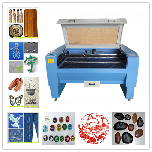 LB-CE TAJIMA embroidery softwae wooden crafts laser engraving cutting machine