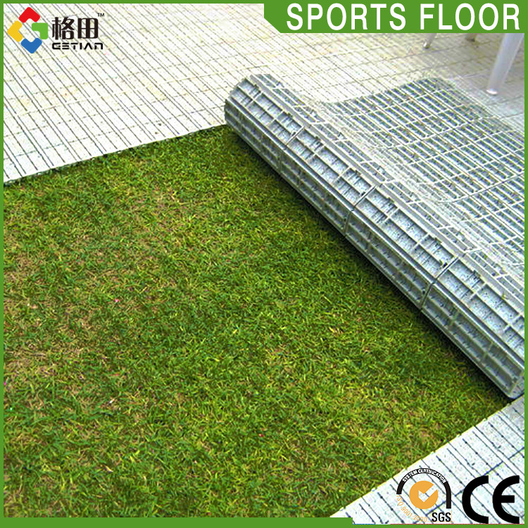 Perfect High Strength Portable Pp Interlocking Sports Turf Protection Flooring