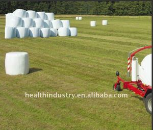 white silage cover,silage wrap ,silage stretch films for grass balers