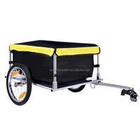 Utility Cargo Trailer for Bicycle