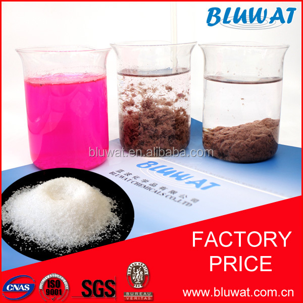 Cationic Polymer Flocculant for Water Treatment, Sludge Dewatering, Paper Making and Mining