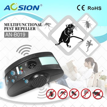 Aosion Ultrasonic Pest Repeller for Rats Mice Rodents Electronic Non Chemical Plugin Device Safe for Humans and Pets