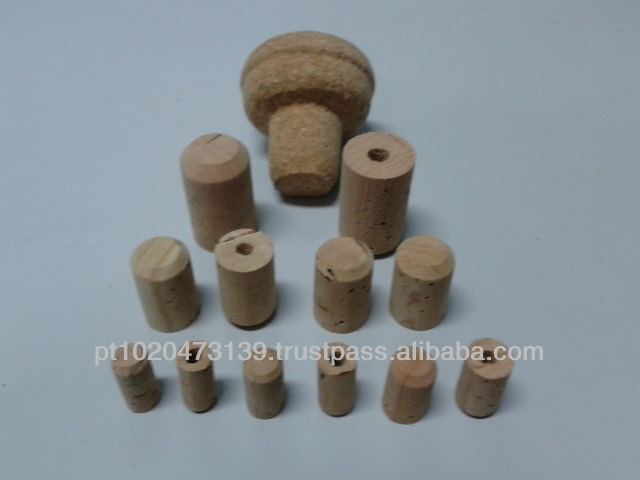 Perfume or Laboratory Cork Stoppers