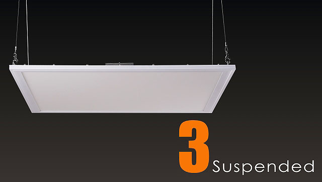 Dlc 2x4 Led Panel Lay-in Ceiling Troffer 0~10v Dimmable Led Panel ...