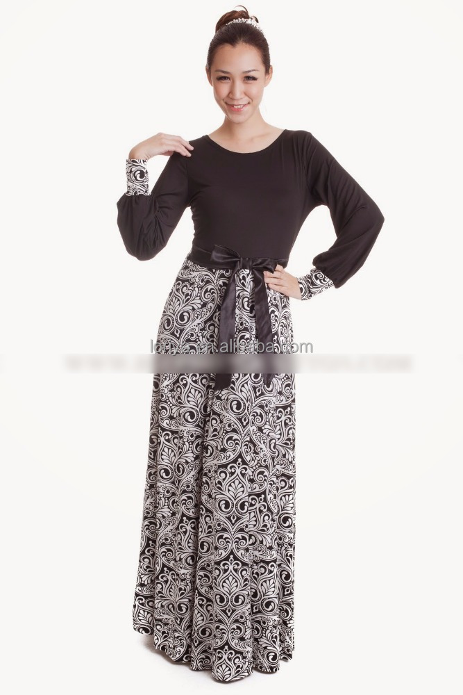 Traditional Muslim India Lady Classic Islamic Casual Dress