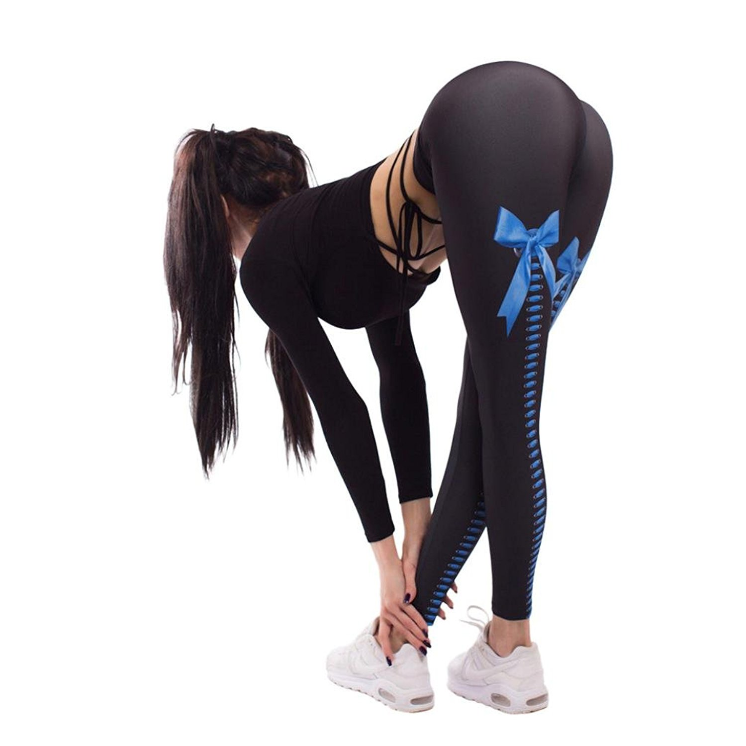 morecome Women Leggings, 3D Printed Fitness Yoga Sport Elastic Pants