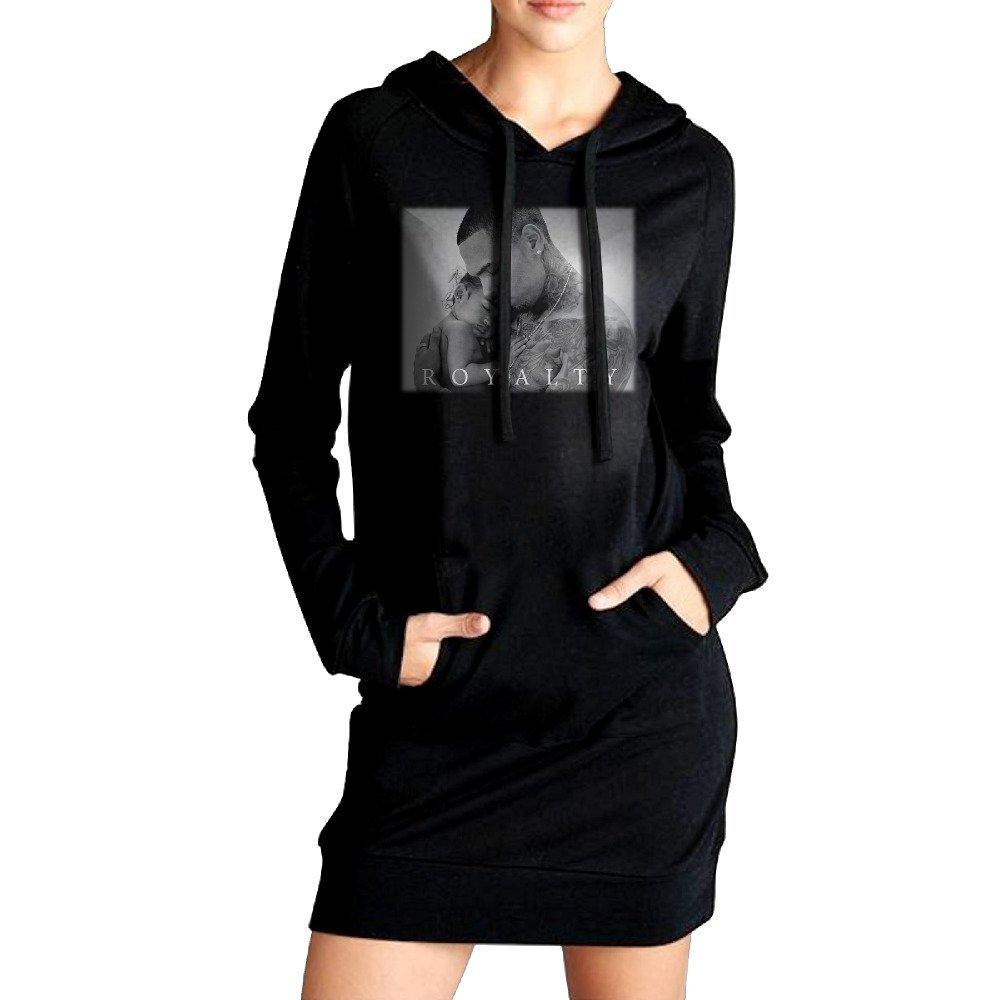 Buy Womens Royalty Album Cover Chris Brown Pullover Sweater Hoodie