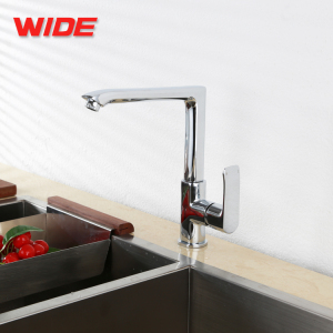 Wholesale vertical square kitchen faucet mixer tap from China