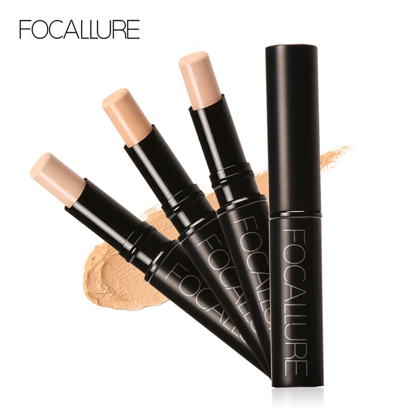 FOCALLURE Pro Perfect Face Primer Base Lightweight Coverage Concealer Stick