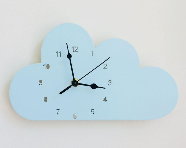 Creative Modern Wood Wall Clock