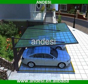 cantilever carport for two car parking canopy & Cantilever Carport For Two Car Parking Canopy - Buy Cantilever ...