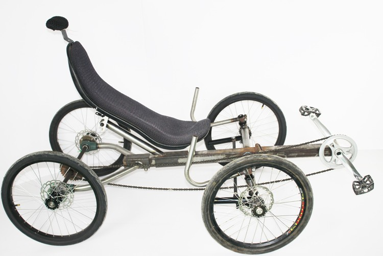Fat Tires 4 Wheels Recumbent Trike Quad Fat Bike Buy Recumbent