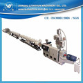 160kg/h Plastic PPR 20-110mm water pipe extrusion line hot sale in Zhangjiagang