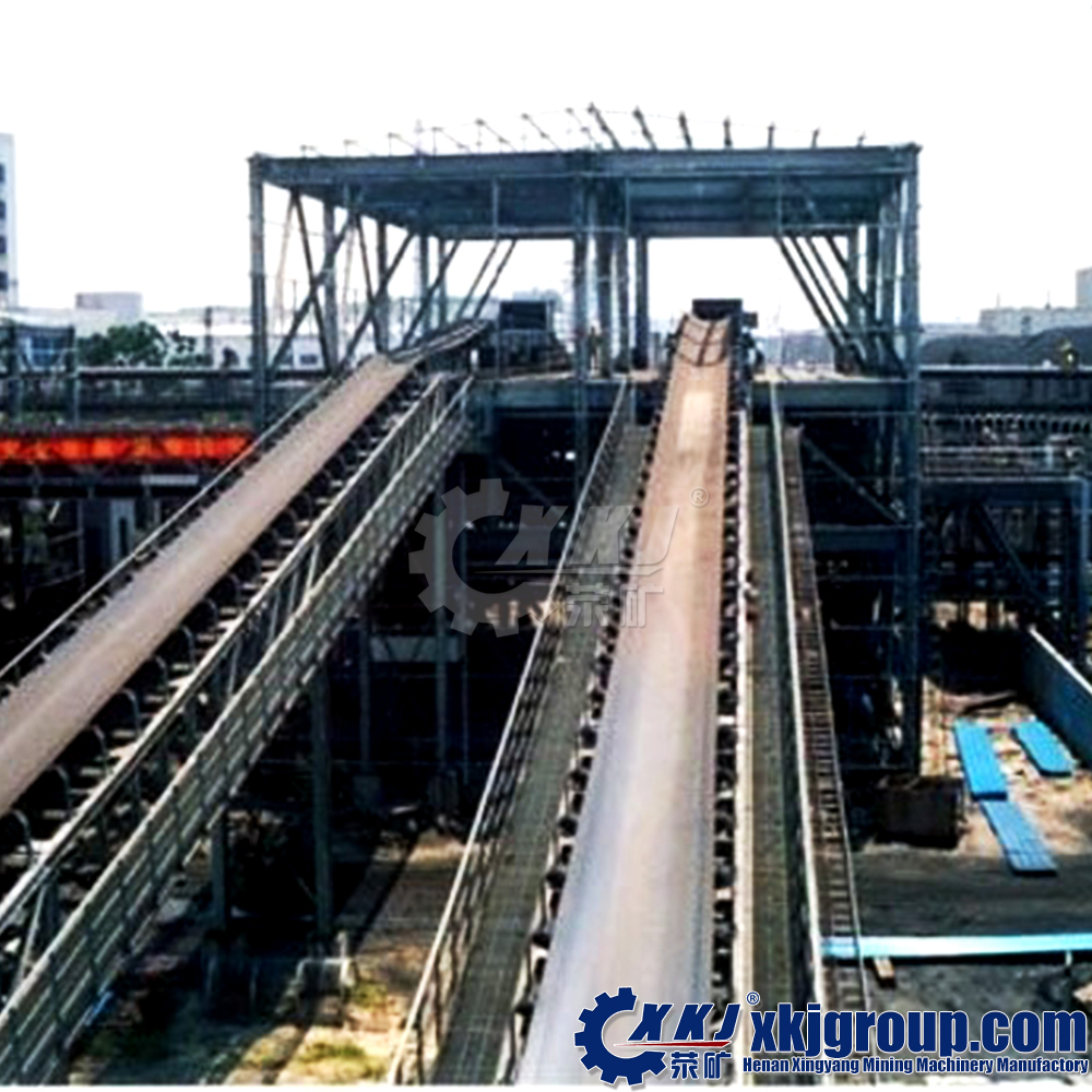 Alibaba Golden Supplier Skirt Rubber Belt Conveyor for bulk material conveying