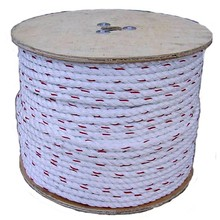 8mm polypropylene rope/polyester rope 3 strand