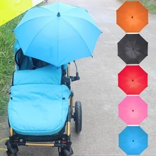 UV Resistant Baby Carriage Stroller Umbrella clamp outdoor Parasol Sun Canopy