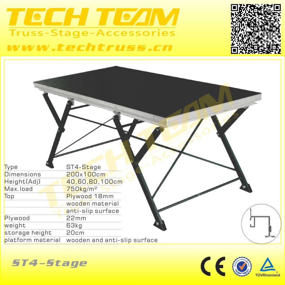 ST4 Folding Stage,Concert mobile stage