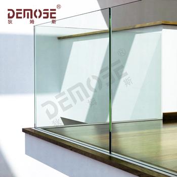 Balkon Glas aluminium u basis schoen glas balustrade voor balkon - buy aluminium