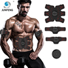 Abdominal muscle stimulator and ab belt muscle trainer