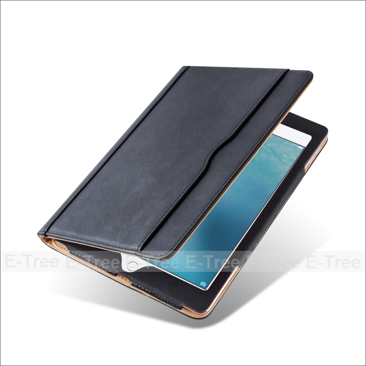 Flip Leather Stand Folio Sleep & Weak Function Cover Case For <strong>iPad</strong> Pro