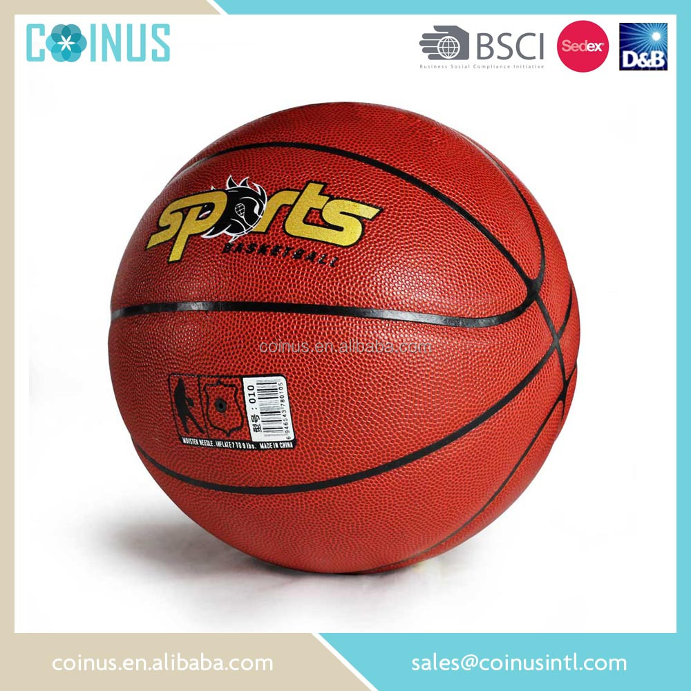 Size 7 high quality custom balls basketball for training