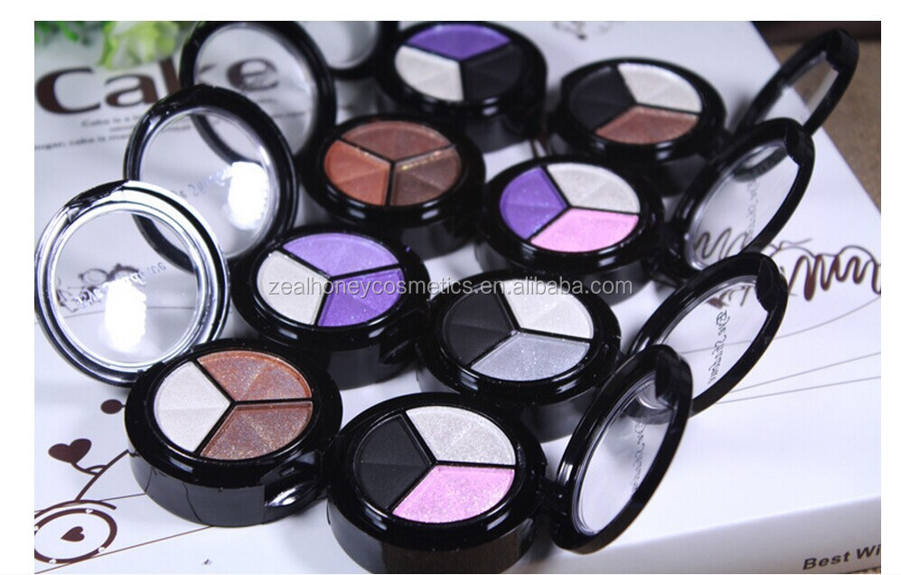 2016 Most Cheapest price high quality 3colors eyeshadow blush cream accept small order
