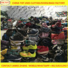 Mixed loaded in 25kg sacks used shoes China used clothing and shoes
