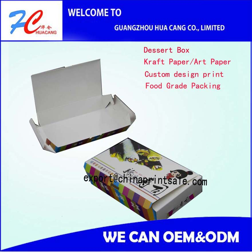 sushi take away packing box small cake packing box