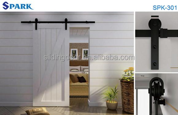 Rustici americano stile fai da te porta scorrevole fienile di alta qualit porta id prodotto - Finestre stile americano ...