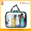 High quality trendy clear pvc travel toiletry bag costemic bag wash bag