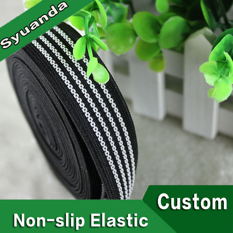 Custom Color Design Silicone Gripper Elastic Band With Wholesales