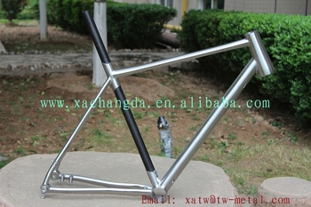New Design Titanium Road Bike Frame Hot Sale Titanium Touring Bike Frame  Titanium U0026 Carbon Bike