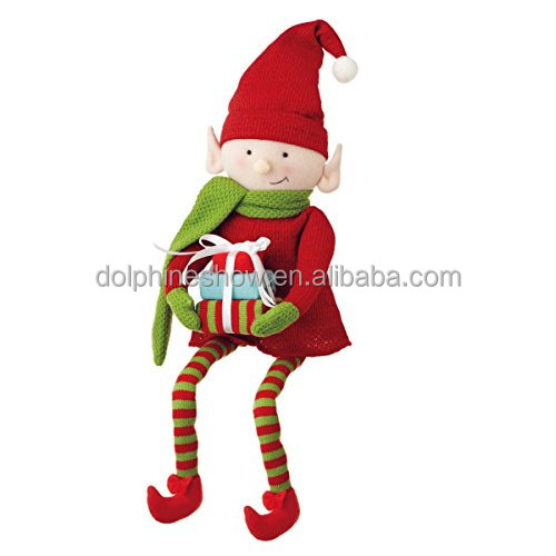 Cheap 2018 New Christmas Elf Toy With Gift Box Custom Oem Cute Red ...