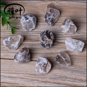 20-25mm Wholesale Gemstones Rough Raw Material Natural Stones Unpolished Smoky Quartz Rough Stones
